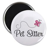 Cute Pet Sitter Magnet