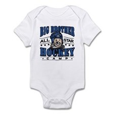 Big Brother Hockey Blue Infant Bodysuit
