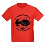 Voyager Fleet Yards (worn) Kids Dark T-Shirt