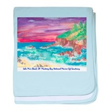 John Muir Beach, CA Monterey Infant Blanket
