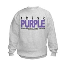 Think Purple Sweatshirt