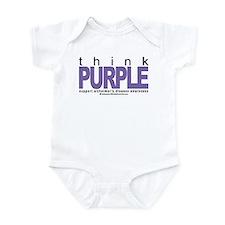 Think Purple Infant Bodysuit