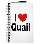 I Love Quail Journal