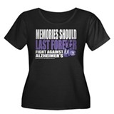Memories Last Forever Women's Plus Size Scoop Neck