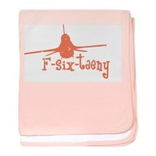 F-six-teeny -pink Infant Blanket
