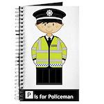 Cute British Policeman Journal