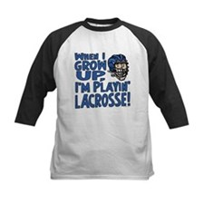 Grow Up Lacrosse 2 Sided Tee