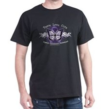 Alzheimer's Tribal Butterfly T-Shirt