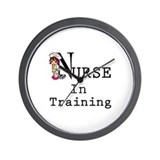 Student nurse Wall Clock