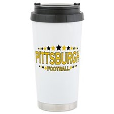 Pittsburgh Ceramic Travel Mug