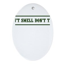 Cool Don't ask, don't tell Ornament (Oval)