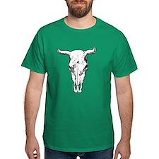 Badass Bull Skull T-Shirt