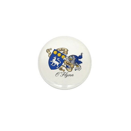 O'Flynn Family Coat of Arms Mini Button