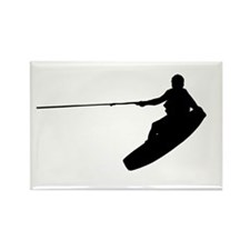 Wakeboard Air Nose Grab Rectangle Magnet (10 pack)