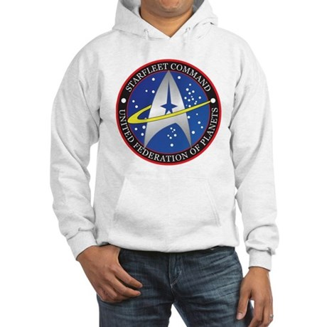 Star Fleet Command Hooded Sweatshirt