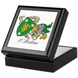 O'Malone Family Sept Keepsake Box