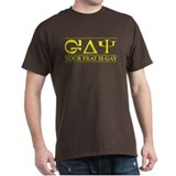 YOUR FRAT IS GAY Black T-Shirt