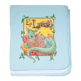 Dragon Reader Infant Blanket