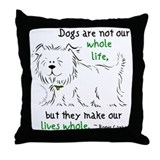 Whole Life Throw Pillow