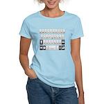 Qwerty Keyboard Women's Light T-Shirt