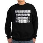 Qwerty Keyboard Sweatshirt (dark)