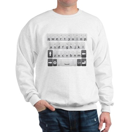 Qwerty Keyboard Sweatshirt