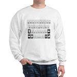 Qwerty Keyboard Sweatshirt
