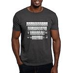 Qwerty Keyboard Dark T-Shirt