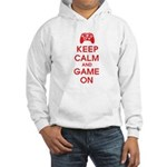 Keep Calm And Game On Hooded Sweatshirt