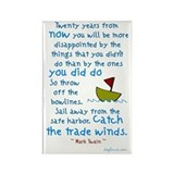 Trade Winds Rectangle Magnet