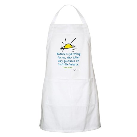 Infinite Beauty BBQ Apron