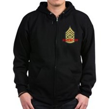 Command Sergeant Major Zip Hoodie