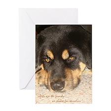 LD Dog Sympathy Card