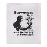 SurveyorsDoIt Throw Blanket