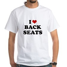 I heart (love) backseats Shirt