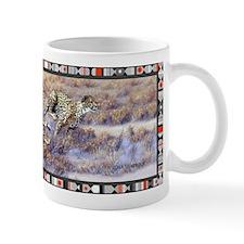 Running Cheetahs Small Mugs