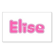 """""""Elise"""" Rectangle Decal"""