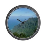 Kalalau Valley Wall Clock