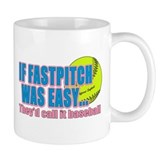 Girls Softball Small Mug