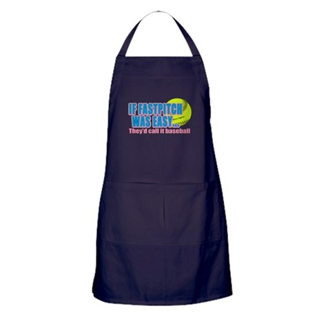 Girls Softball Apron (dark)