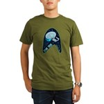 StarTrek Badge Organic Men's T-Shirt (dark)