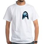 StarTrek Badge White T-Shirt