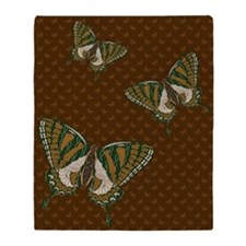 Aboriginal Swallowtail Throw Blanket