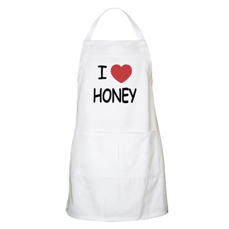 I heart honey Apron