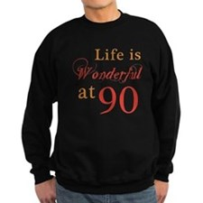 Life Is Wonderful At 90 Jumper Sweater