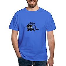 Vagina Badger Colored T-Shirt