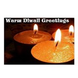 Unique Diwali Postcards (Package of 8)