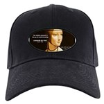 Leonardo da Vinci Pleasure Black Cap