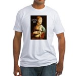 Leonardo da Vinci Pleasure Fitted T-Shirt