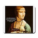 Leonardo da Vinci Pleasure Mousepad